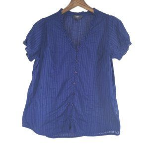 REITMAN'S Royal Blue Lightweight Cotton 16 Plus